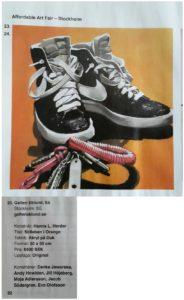 Min målning representerar Galleri Eklund i katalogen till Affordable Art Fair, 13-16 oktober 2016.
